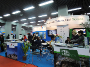 The joint stand of Slovenia Tourist Board and Croatian National Tourist Board--2012cottm斯洛文尼亚+克罗地亚联合展台