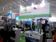 The joint stand of Slovenia Tourist Board and Croatian National Tourist Board  